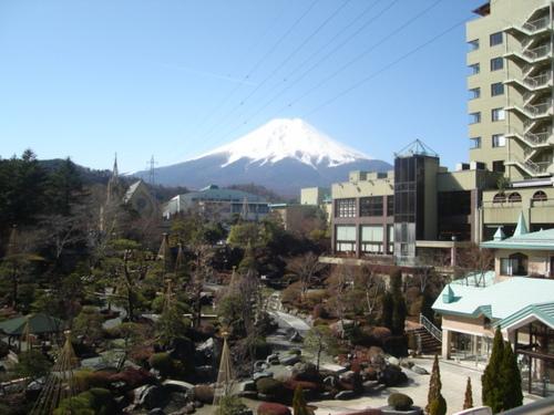 山梨県 温泉宿 今月イチバンの富士山