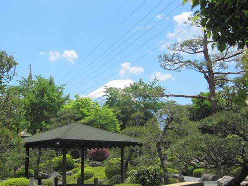 河口湖周辺 温泉宿 「鐘山苑富士山撮影スポット」