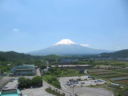 山梨県 温泉宿 「本日の富士山」
