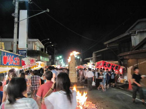 富士山温泉 鐘山苑「吉田の火祭りに行きました」