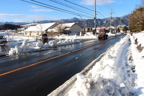 平成29年1月9日降雪情報