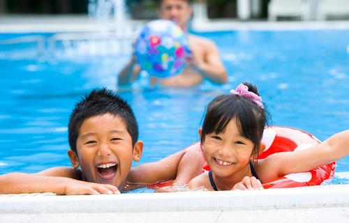 鐘山苑夏祭り 8月25日(土)まで開催中 ※プールは8月31日午前中迄