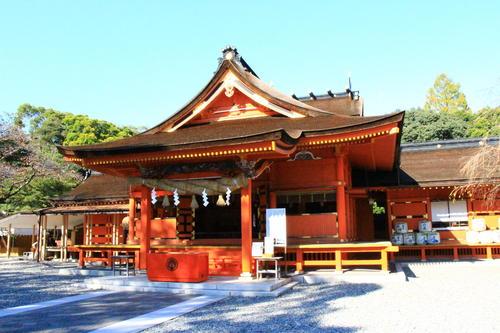 【2月開催】花満開の全天候型ハウス「富士花鳥園」と「富士山本宮浅間大社」ミニバスツアー
