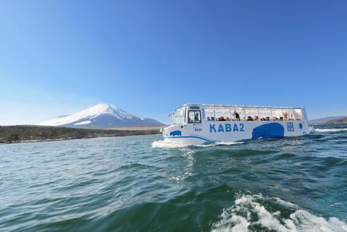 【5月開催】山中湖KABAバスと花の都公園・浅間茶屋・忍野八海をめぐる初夏のミニバスツアー