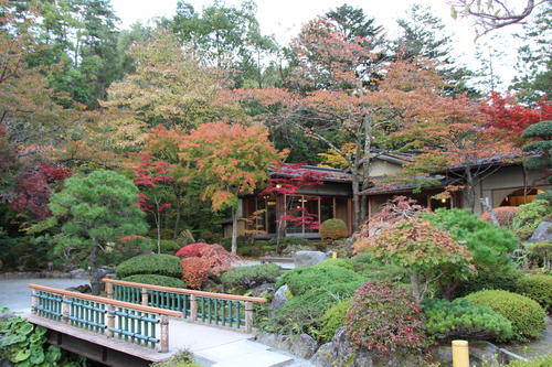 2018年庭園の紅葉情報No.12|富士山温泉ホテル鐘山苑