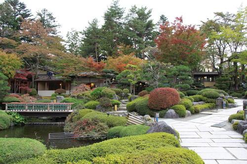 2018年庭園の紅葉情報No.6|富士山温泉ホテル鐘山苑